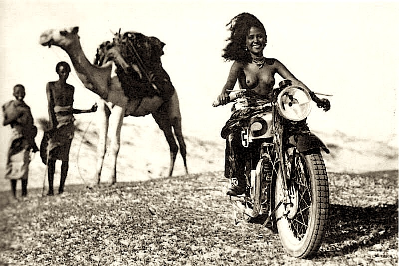African-Girl-Motorcycle