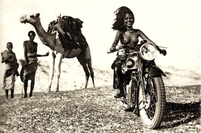 African-Girl-Motorcycle